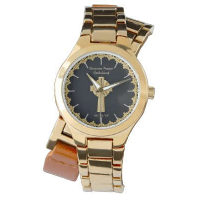 Deacon Ordained Ordination Gift Commemorative Watch