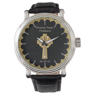 Deacon Ordained Ordination Gift Commemorative Wristwatch