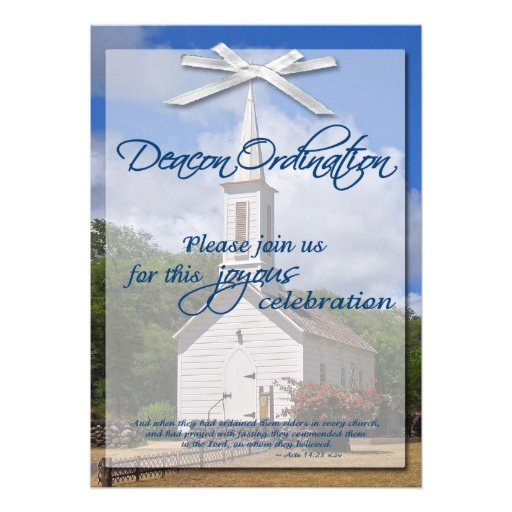 Church+Deacon+Poems Ordination Invitation Templates Free | LZK Gallery