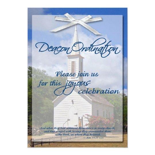 Deacon Ordination Invitation | Zazzle.com