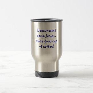 Deaconess travel coffee mug