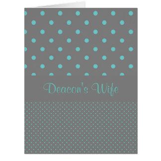 Deacon's Wife Thank You Card