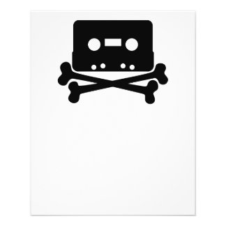 dead-35203  dead music icon cross skull cartoon cr flyer