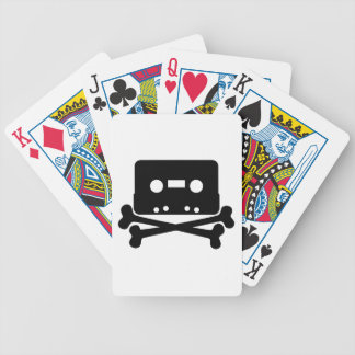 dead-35203  dead music icon cross skull cartoon cr bicycle poker cards