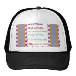 DEAD and STUPID  -  Humor Comedy Reality Hat