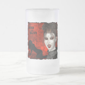 Dead Are Alive - Frosted Glass Stein
