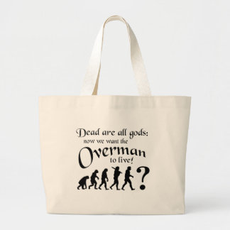 Dead are all Gods... Large Tote Bag