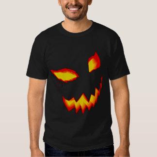 Dead Arm Pumpkin Face Logo T-shirt