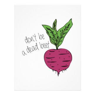 Dead Beet Letterhead