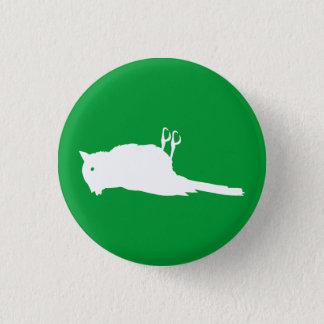 Dead Bird Roadkill Graphic Pinback Button