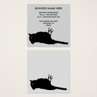 Dead Bird Roadkill Square Business Card