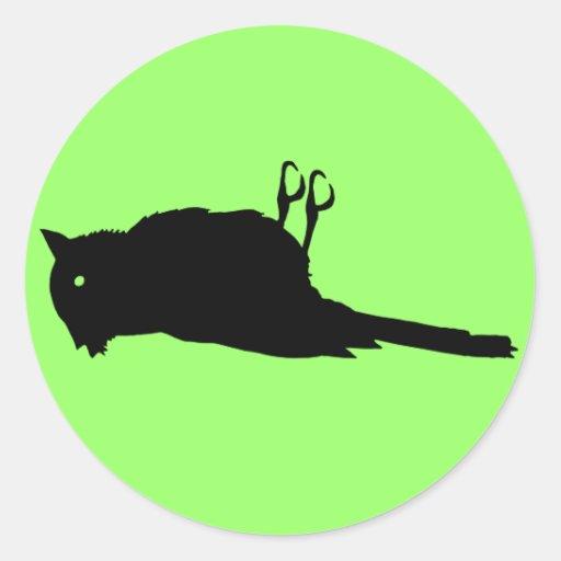 Dead Bird Sticker