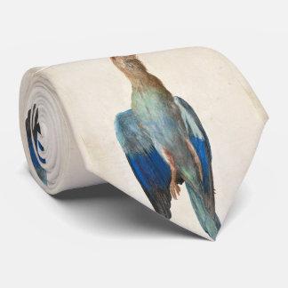 Dead Blue Roller by Albrecht Durer Tie