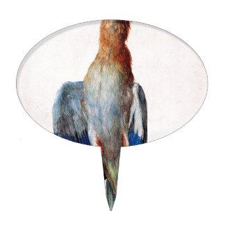Dead Bluebird by Albrecht Durer Cake Topper
