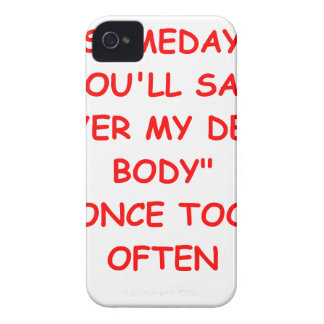 dead body iPhone 4 cover