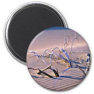 Dead Branches, Dunes Refrigerator Magnet