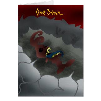 Dead-Bunny Greeting Card