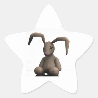 Dead Bunny... Star Sticker