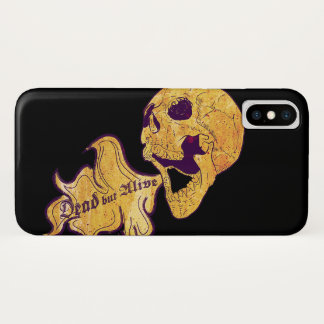Dead but alive iPhone x case