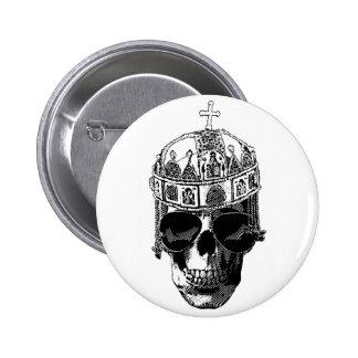 Dead Byzantine Emperor with sunglasses 2 Inch Round Button