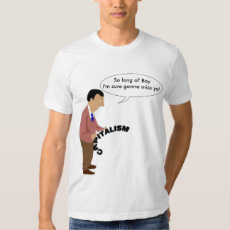 Dead capitalism t shirt