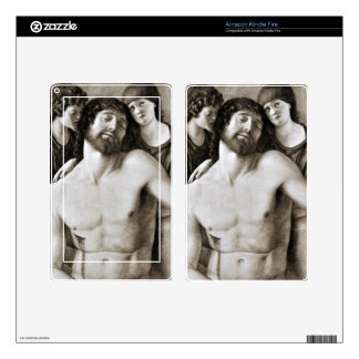 Dead Christ Between Two Angels by Giovanni Bellini Kindle Fire Skins