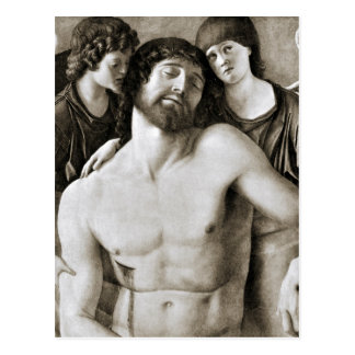 Dead Christ Between Two Angels by Giovanni Bellini Postcard