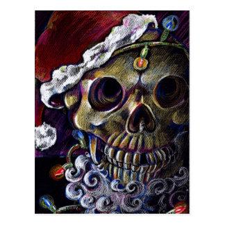 Dead Christmas Postcard