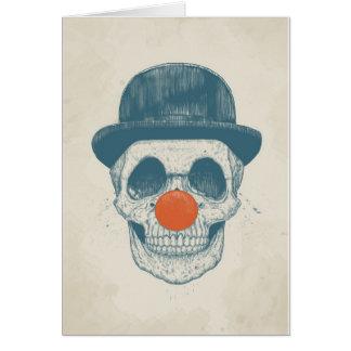 Dead clown card
