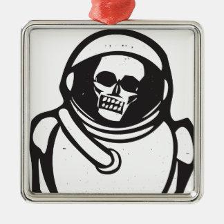 Dead Cosmonaut Metal Ornament