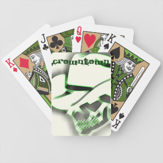 Dead Cowboy Playing Cards