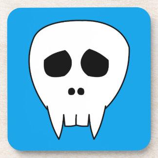 DEAD CUTE Vampire Skull Beverage Coaster