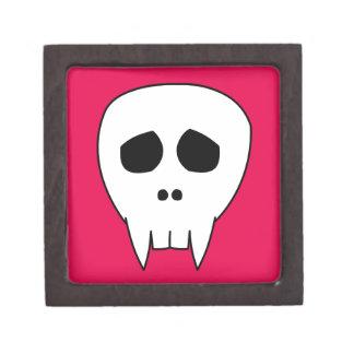 DEAD CUTE Vampire Skull Jewelry Box