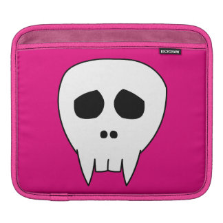 Dead Cute Vampire Skull Sleeve For iPads
