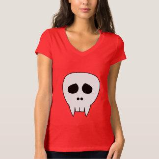 Dead Cute Vampire Skull T-Shirt