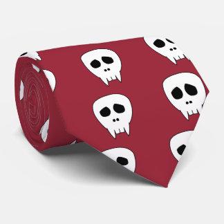 Dead Cute Vampire Skull Tie