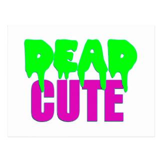 Dead Cute Zombie Design Postcard