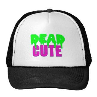 Dead Cute Zombie Design Trucker Hat