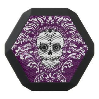 Dead Damask - Chic Sugar Skull Black Bluetooth Speaker