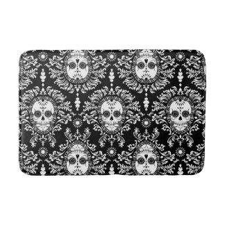 Dead Damask - Chic Sugar Skull Pattern Bath Mats