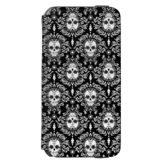 Dead Damask - Chic Sugar Skull Pattern iPhone 6/6s Wallet Case