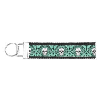 Dead Damask - Chic Sugar Skull Pattern Keychain