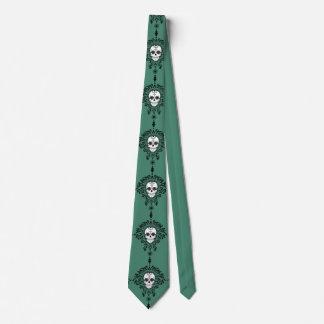 Dead Damask - Chic Sugar Skull Tie