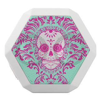 Dead Damask - Chic Sugar Skull White Bluetooth Speaker