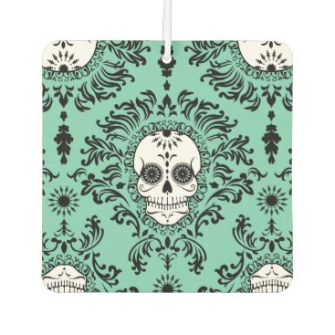 creativetaylor Dead Damask - Chic Sugar Skulls Air Freshener