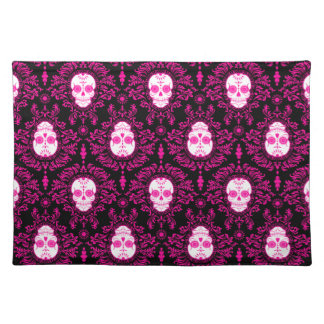 Dead Damask - Chic Sugar Skulls Placemat
