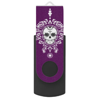 Dead Damask - Chic Sugar Skulls USB Flash Drive