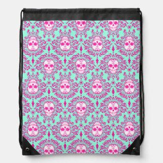 Dead Damask Sugar Skull Pattern Backpack