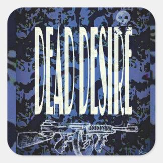 Dead Desire Skate Stickers