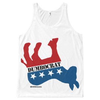 Dead Dumbocrat - Politiclothes Humor -.png All-Over Print Tank Top